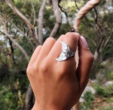 Alloy Vintage Animal Ring  (Main color-6) NHGY2162-Main-color-6