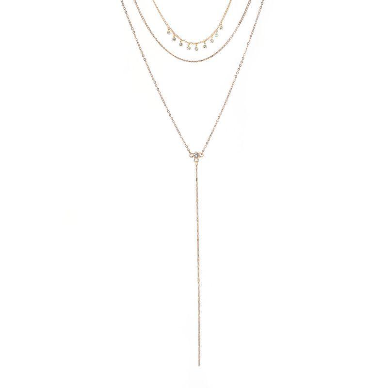Alloy Bohemia Geometric necklace  (61178157) NHXS1658-61178157