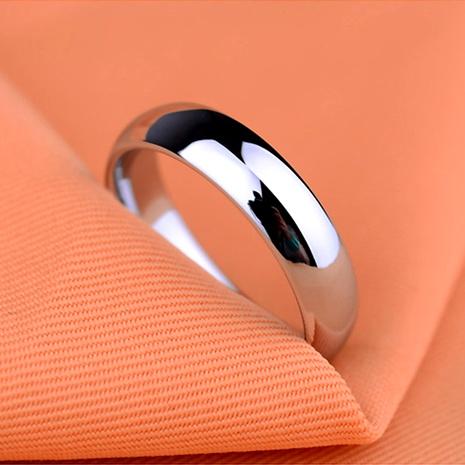 Titanium&Stainless Steel Simple  Ring  (Black-5) NHIM1173-Black-5's discount tags