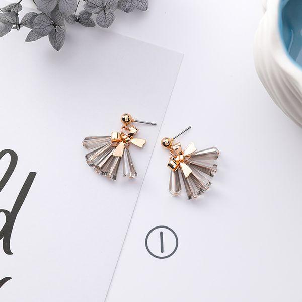 Alloy Korea Geometric earring  (1) NHMS0867-1