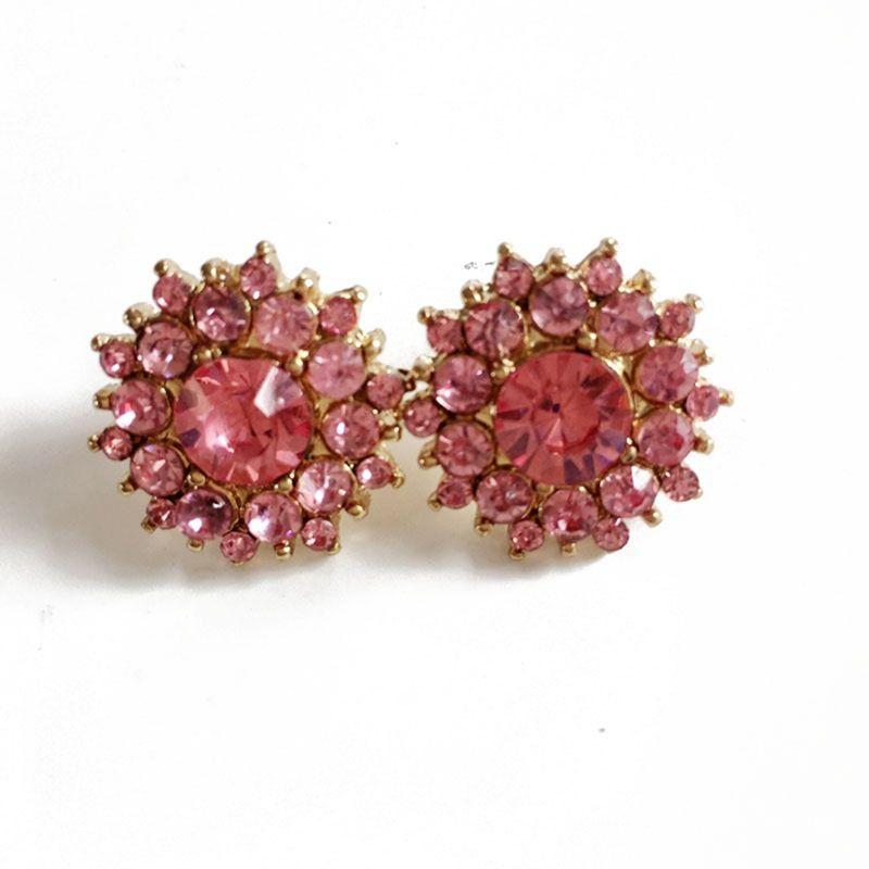 Alloy Fashion Geometric earring  (Pink) NHOM0679-Pink