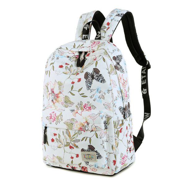 Alloy Fashion  backpack  (Large white) NHTC1007-Large-white