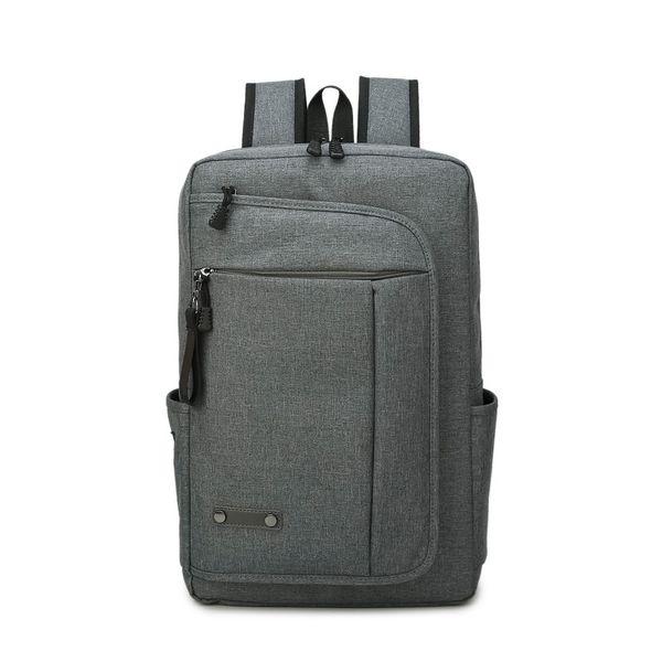 Cloth Fashion  backpack  (Gray -17 inch) NHTC1018-Gray-17-inch