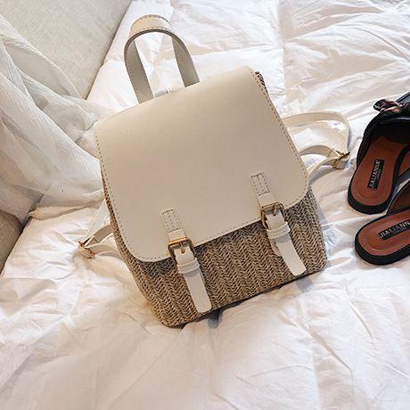 PU Korea  backpack  (white) NHTC1066-white