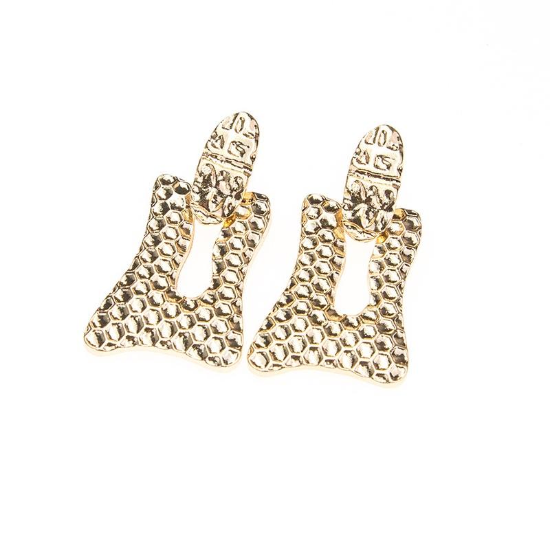 Alloy Simple Geometric earring  Alloy NHBQ1437Alloy