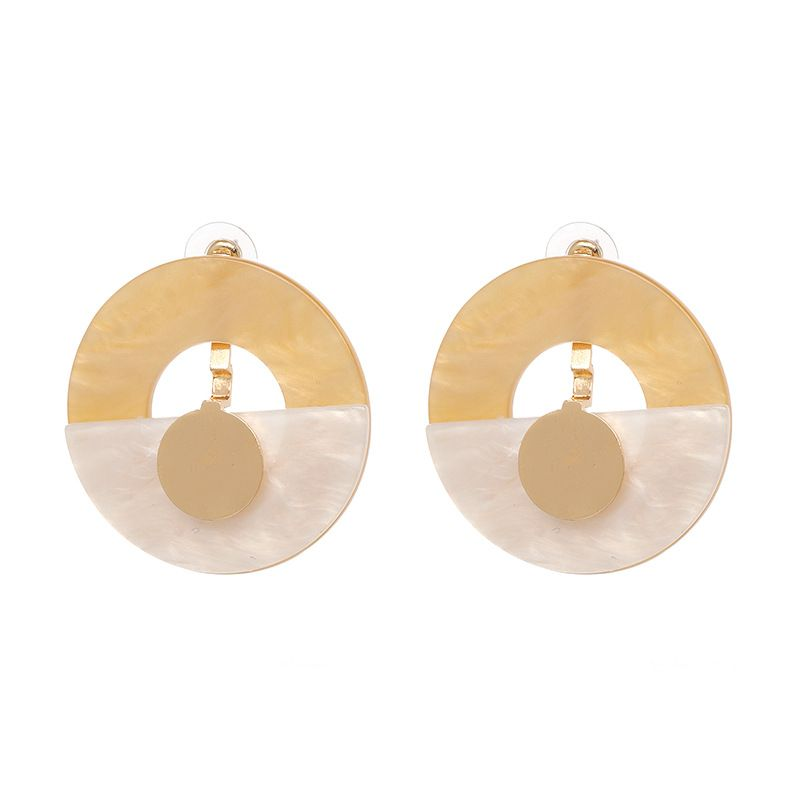 Plastic Fashion Geometric earring  50988 NHJJ492350988