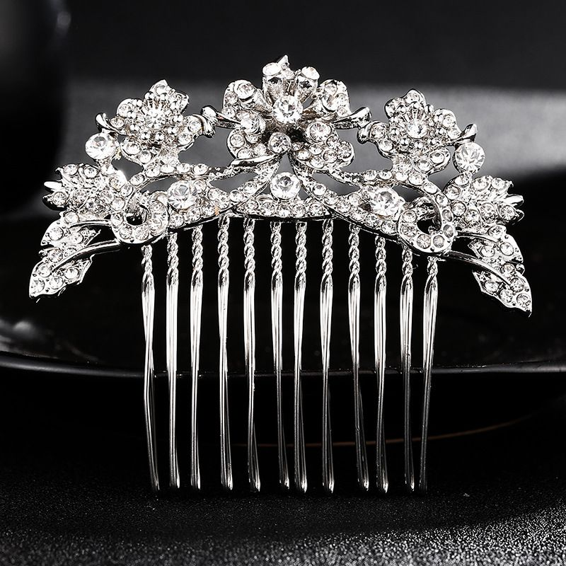 Alloy Fashion Flowers Hair accessories  (Alloy) NHHS0451-Alloy