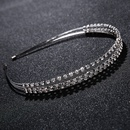 Imitated crystalCZ Simple Geometric Hair accessories  Alloy NHHS0492Alloy