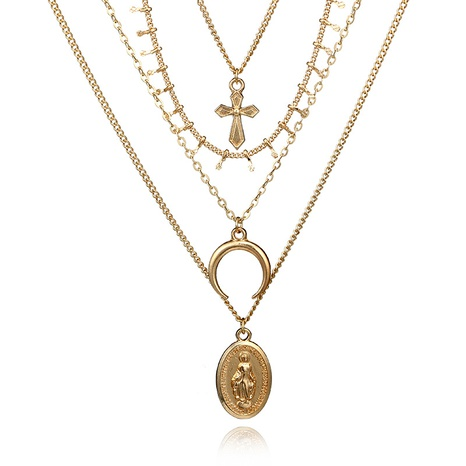 Alloy Vintage  necklace  (Main color) NHGY2005-Main-color's discount tags