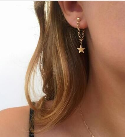 Alloy Fashion Geometric earring  (Alloy) NHGY2027-Alloy