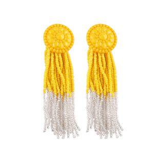 Alloy Fashion Geometric earring  (yellow) NHJQ10423-yellow's discount tags