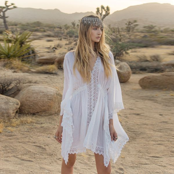 Polyester Fashion  Bikini  (white) NHXW0550-white