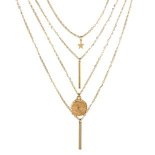 Alloy Simple Geometric necklace  (Alloy) NHGY2260-Alloy's discount tags