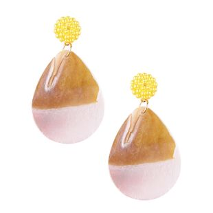 Alloy Korea Geometric earring  (yellow) NHJQ10548-yellow's discount tags