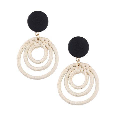 Alloy Fashion Geometric earring  (black) NHJQ10558-black's discount tags