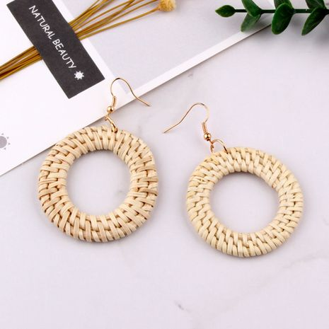Alloy Korea Geometric earring  (Photo Color) NHJQ10561-Photo-Color's discount tags