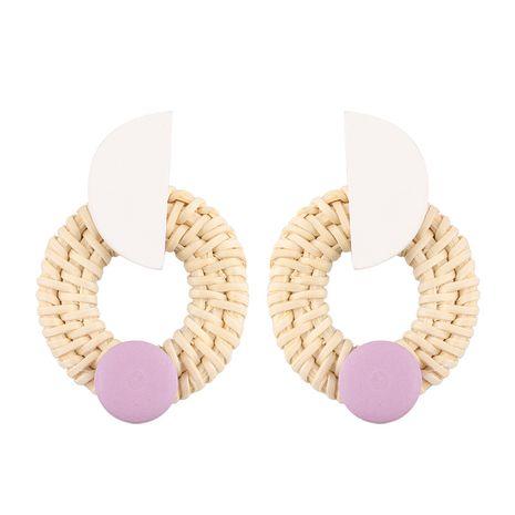 Alloy Fashion Geometric earring  (A white) NHJQ10559-A-white's discount tags
