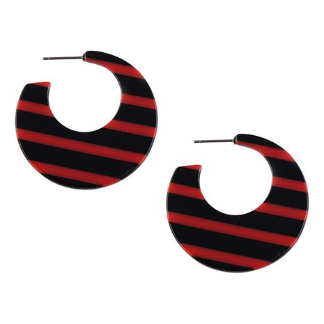 Acrylic Fashion Geometric earring  (red) NHJQ10578-red's discount tags