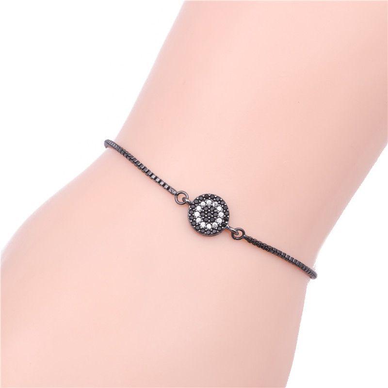 Copper Korea Geometric bracelet  (Gun black) NHYL0004-Gun-black