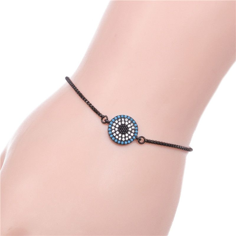 Copper Korea Geometric bracelet  (Gun black) NHYL0054-Gun-black