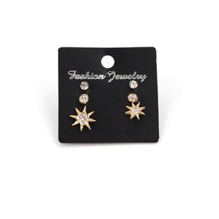 Alloy Korea Flowers earring  (Photo Color) NHBQ1592-Photo-Color's discount tags