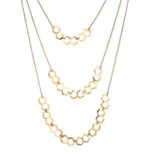 Alloy Fashion Geometric necklace  (Alloy) NHBQ1603-Alloy's discount tags