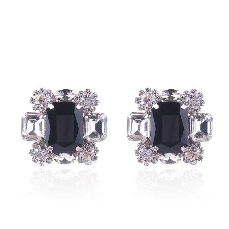 Alloy Fashion Geometric earring  black NHNMD4614black
