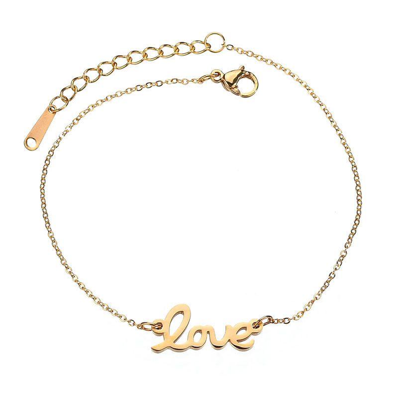 Titanium&Stainless Steel Simple Geometric bracelet  (Steel color) NHHF0925-Steel-color