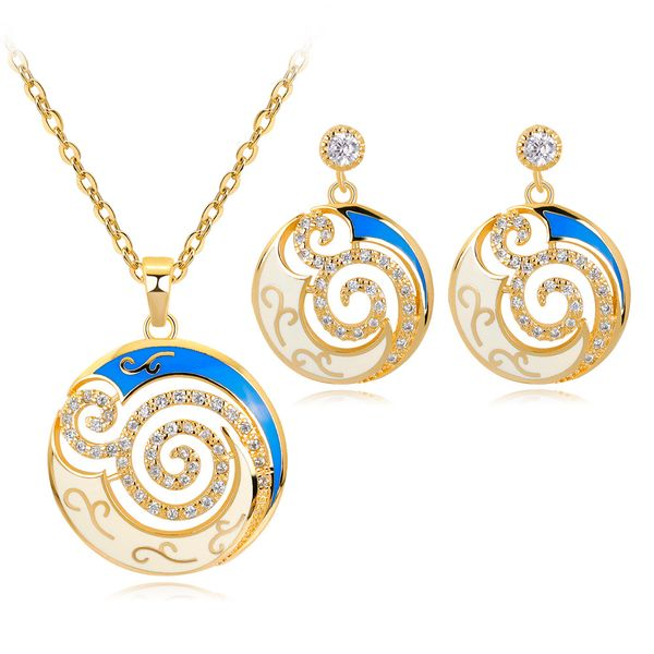 Copper Fashion  Jewelry Set  (CA585-A) NHDR2837-CA585-A