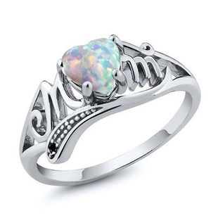 Alloy Fashion Sweetheart Ring  (White K-6) NHNZ0730-White-K-6's discount tags