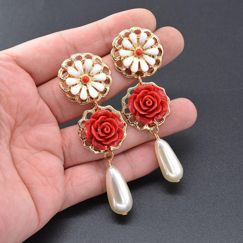Alloy Vintage Geometric earring  (Alloy) NHNT0608-Alloy