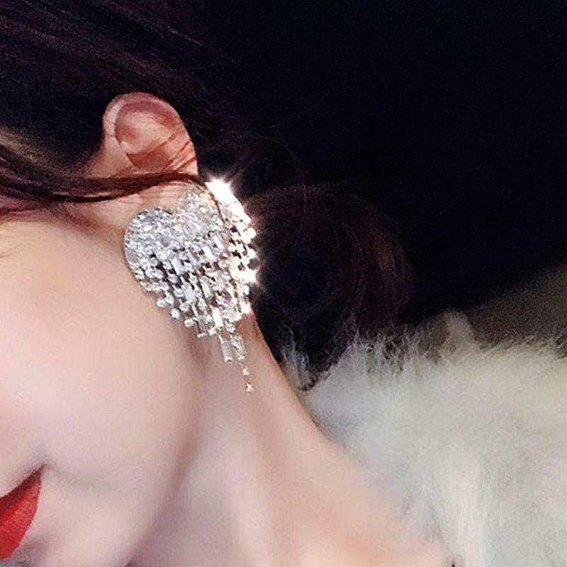 Alloy Fashion Tassel  single earring  (Stud earrings) NHNT0610-Stud-earrings