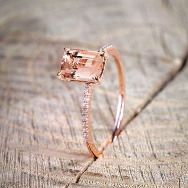 Alloy Fashion Geometric Ring  (Rose Alloy-6) NHNZ0766-Rose-Alloy-6