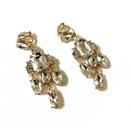 Alloy Fashion  earring  Blue ear clip NHOM0747Blueearclip