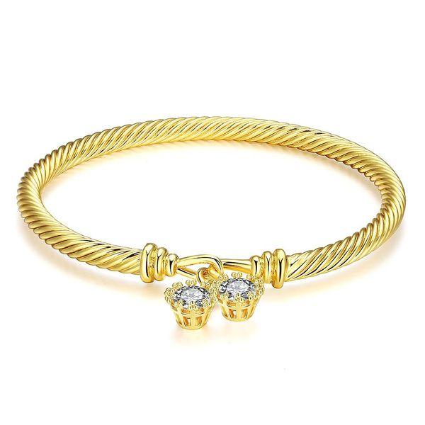 Z042-A Good Quality Nickle Free Antiallergic 2015 New Fashion Jewelry 18K Alloy Bracelets NHKL7231-A