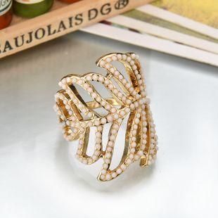 Alloy Korea Geometric Ring  (white) NHBQ1535-white's discount tags