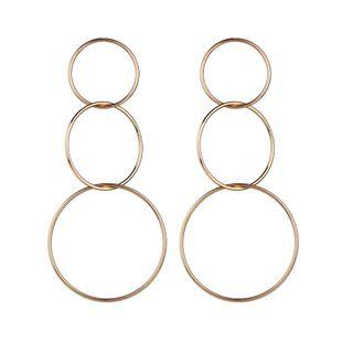 Alloy Korea Geometric earring  (Alloy) NHBQ1634-Alloy's discount tags