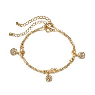 Alloy Simple Geometric Anklet  (Alloy key type 6413) NHGY2361-Alloy-key-type-6413's discount tags