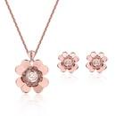 Alloy Fashion Flowers Jewelry Set  61152268 NHLP111061152268