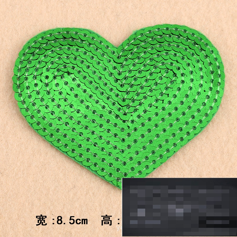 Alloy Fashion  Clothes patch  (green) NHDX0179-green