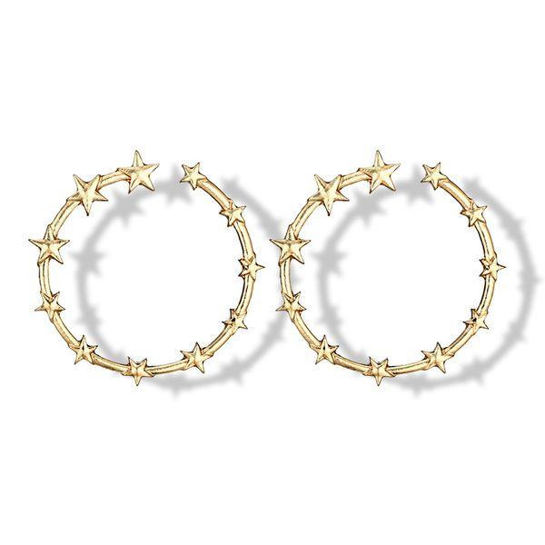 Alloy Vintage Geometric earring  (Alloy) NHGY2197-Alloy