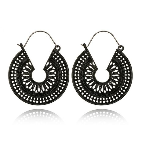 Alloy Vintage  earring  (black) NHGY2231-black's discount tags