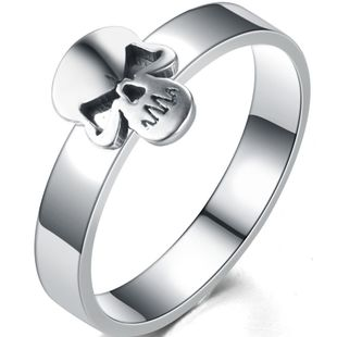 Titanium&Stainless Steel Fashion Geometric Ring  (Steel color-6) NHIM1210-Steel-color-6's discount tags