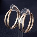 Imitated crystalCZ Fashion Geometric earring  Alloy 4cm NHIM1179Alloy4cm