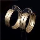 Imitated crystalCZ Fashion Geometric earring  Alloy 4cm NHIM1196Alloy4cm