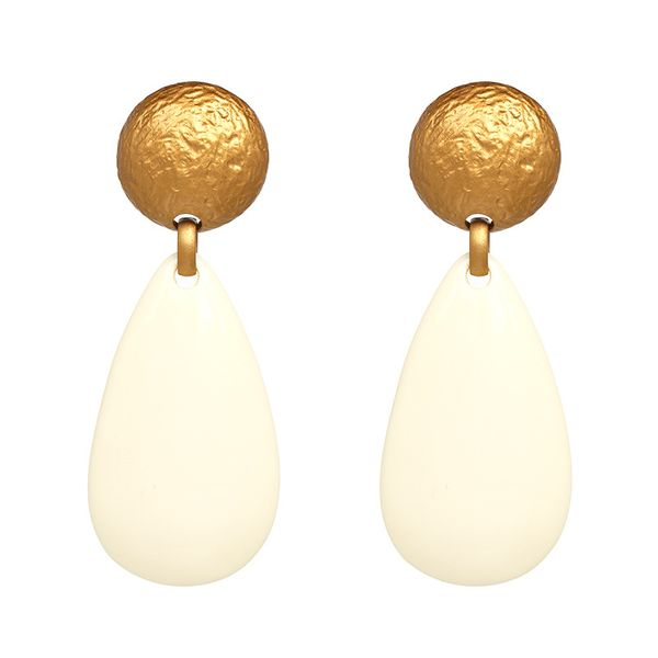 Plastic Fashion Geometric earring  (51115) NHJJ5052-51115