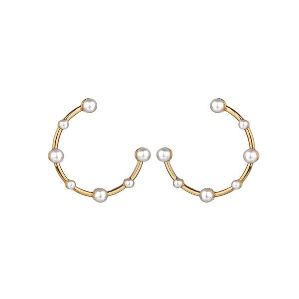 Alloy Korea Geometric earring  (Photo Color) NHBQ1659-Photo-Color