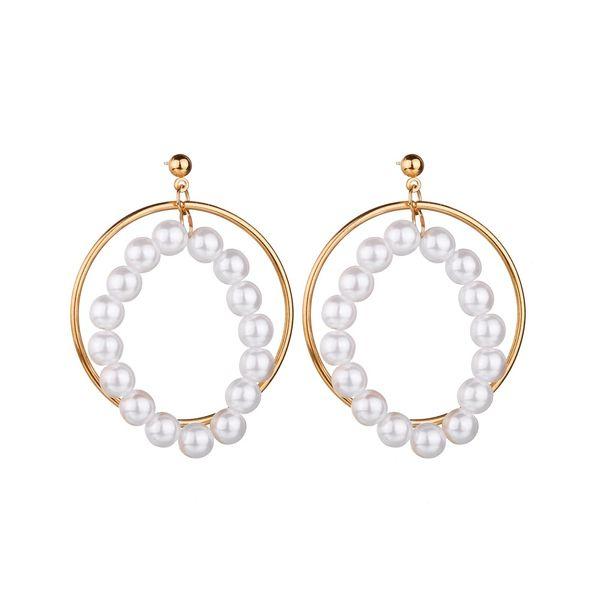 Alloy Fashion Geometric earring  (Photo Color) NHBQ1664-Photo-Color