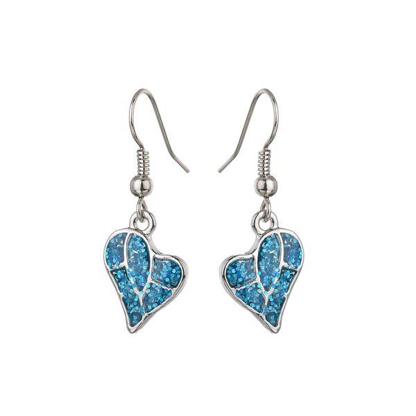 Alloy Korea Sweetheart earring  (blue) NHBQ1665-blue