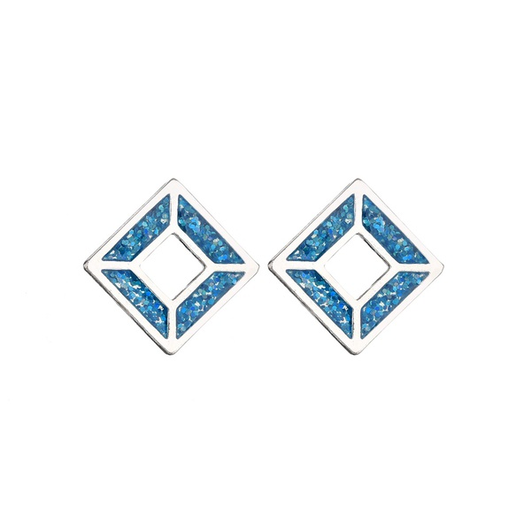 Alloy Fashion Geometric earring  (Photo Color) NHBQ1670-Photo-Color